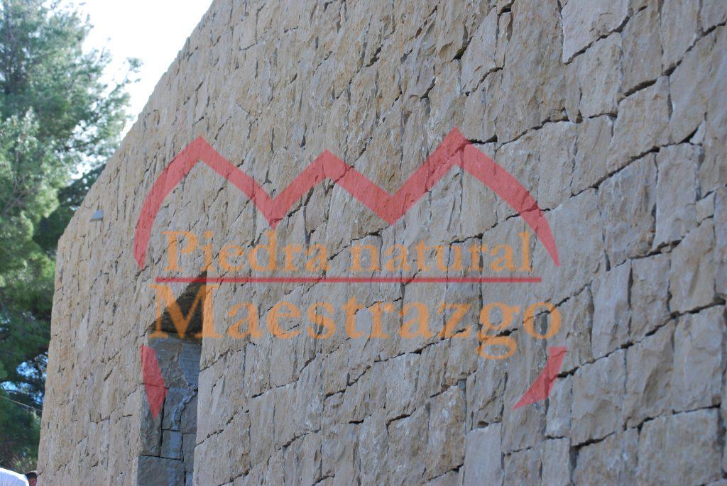 colocación de piedra natural